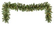 Brighton Fir Prelit Christmas Garland, Multicolor Lights