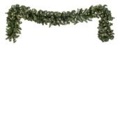 Tiffany Prelit LED Christmas Garland, Warm White Lights