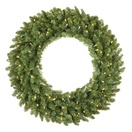 Tiffany Prelit LED Holiday Wreath, Warm White Lights