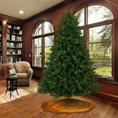 6.5' Pre-Lit Dunhill Fir LED Tree, 400 Warm White LED Lights