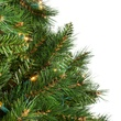 12' Full Pre-Lit Brighton Fir Tree, 2950 Clear Lamps