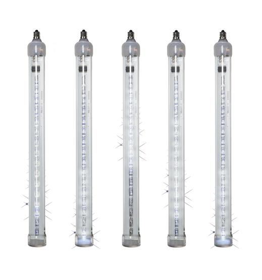 T8 Cool White Grand Cascade LED Light Tubes, E12 Base