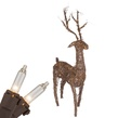 "48"" Standing Grapevine Reindeer, 200 Clear Lamps"