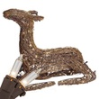 "24"" Grapevine Sitting Fawn, Outdoor Yard Decoration"