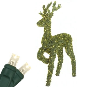 "58"" LED Standing Reindeer Topiary"