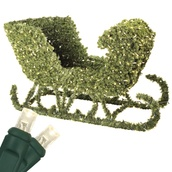 "48"" LED Topiary Sleigh"