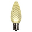 C9 Warm White LED Christmas Replacement Bulbs