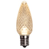 C9 Sun Warm White LED Christmas Light Bulbs