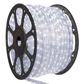 "150' Pure White LED Rope Light, 2 Wire 1/2"", 120 Volt"