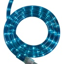 "12' Blue Rope Light, 2 Wire 1/2"", 120 Volt"