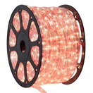 "150' Red, Clear Chasing Rope Light, 3 Wire 1/2"", 120 Volt"
