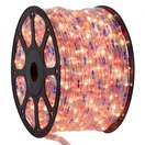 "150' Blue, Red, Clear Rope Light, 2 Wire 1/2"", 120 Volt"