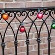 50' Outdoor Patio String with 33 G50 Multicolor Party Lights