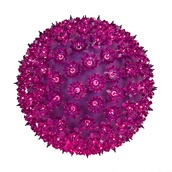 "7.5"" Mini Starlight Sphere, 100 Purple Lamps"
