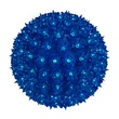 "7.5"" Mini Starlight Sphere, 100 Blue Lamps"