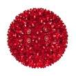 "7.5"" Starlight Sphere, 100 Red LED Lights"
