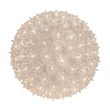 "6"" Starlight Sphere Outdoor Christmas Decoration, 50 Clear Lights"