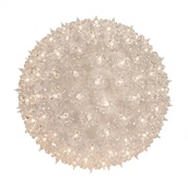 "7.5"" Shimmering Mini Starlight Sphere, Clear Random Twinkle Lamps"