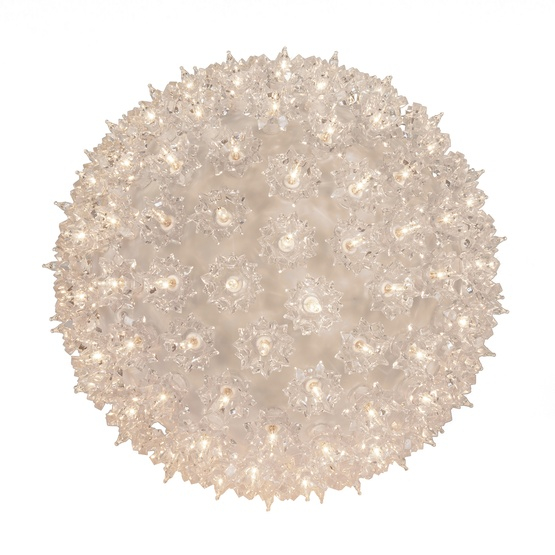 "6"" Shimmering Mini Starlight Sphere, Clear Random Twinkle Lamps"