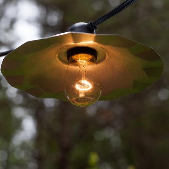 Cafe Patio Light Shades