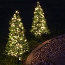 3' Walkway Pre-Lit Winchester Fir Tree, 100 Clear Lamps