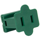 Female Zip Plug SPT1, Green