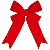 Red Imperial 3D Velvet Bow