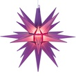 "14"" Purple Moravian Star"