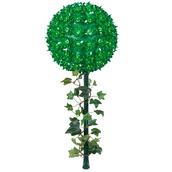 "7.5"" Mini Starlight Stake, 100 Green Lamps"