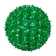 "6"" Mini Starlight Sphere, 50 Green Lamps"