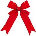 "36"" Red Velvet Imperial Structural Bow"
