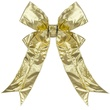 "18"" Gold Metallic Lame Bow"