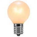 G30 Triple Dipped Transparent Pearl White, 5 Watt Replacement Bulbs