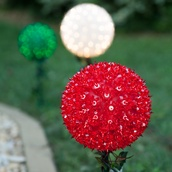 "7.5"" Mini Starlight Stake, 100 Red Lamps"