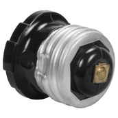 Single Black Socket Adapter
