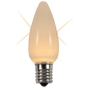 C9 Twinkle Warm White LED Christmas Replacement Bulbs
