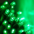 "70 5mm Green LED Christmas Lights, 4"" Spacing"