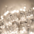 "50 Clear Mini Christmas Lights, 8"" Spacing, Premium, White Wire"
