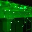 70 M5 Green LED Icicle Lights