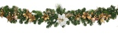 Canterbury Battery Operated LED Christmas Garland, Warm White Lights
