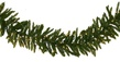Norway Spruce Prelit LED Christmas Garland, Warm White Lights