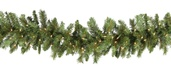 Brighton Fir Prelit Christmas Garland, Clear Lights