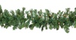 Cumberland Fir Prelit Christmas Garland, Clear Lights