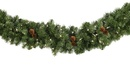 Winchester Fir Prelit Christmas Garland, Multicolor Lights