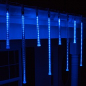 T8 Blue Grand Cascade LED Light Tubes, E17 Base