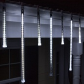 T8 Cool White Grand Cascade LED Light Tubes, E12 Base