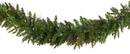 Fraser Fir Prelit LED Christmas Garland, Warm White Lights