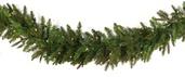 Fraser Fir Prelit LED Christmas Garland, Warm White Lights
