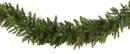 Green Fraser Fir TruTip PE / PVC Unlit Christmas Garland