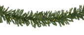 Douglas Fir Prelit LED Christmas Garland, Warm White Lights